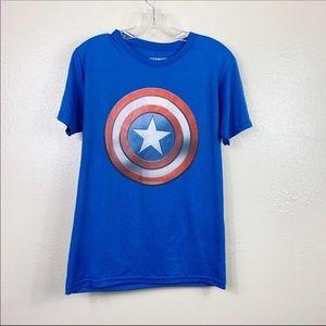 4/$25 Marvel Captain America Tee